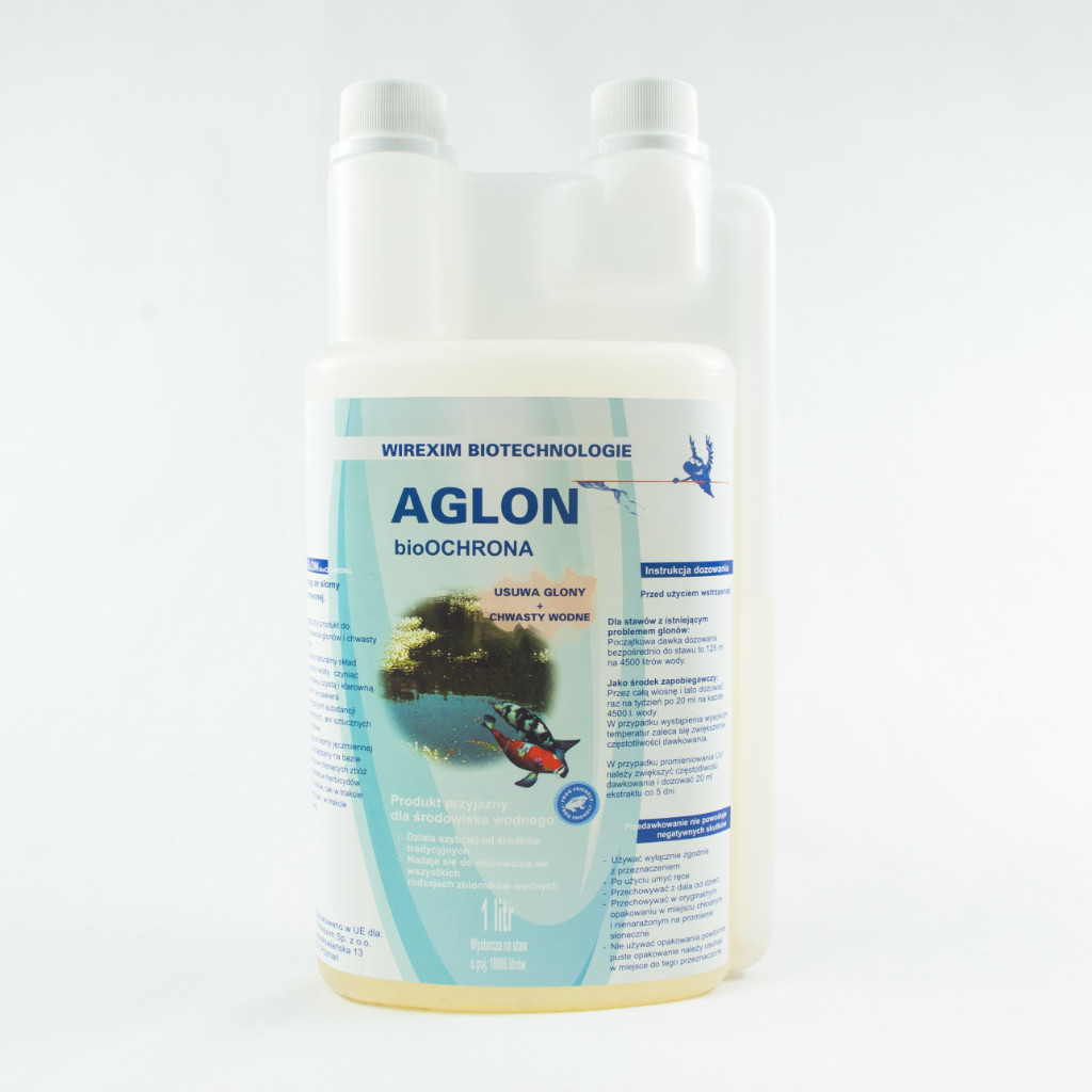 Aglon - usuwa glony